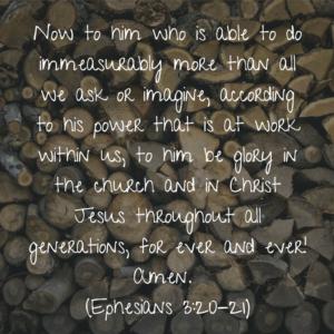 Ephesians 3 2021