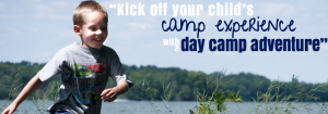 kick off your child's camp experience!